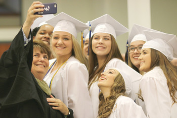 St. Mary Academy Bay View Graduation 2017